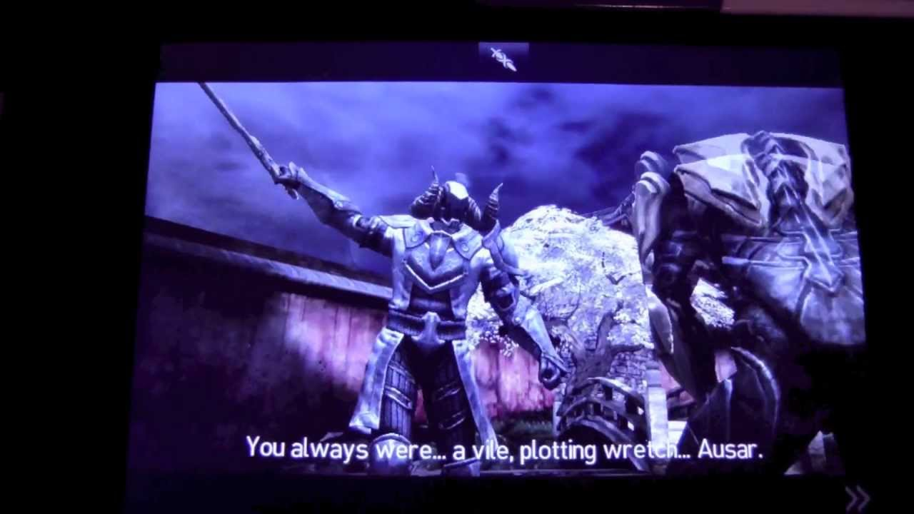 Beating Infinity Blade 2 Battling And Killing The God