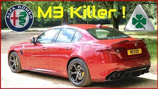 Alfa Giulia Quadrifoglio - Better than an M3 or C63 ?!