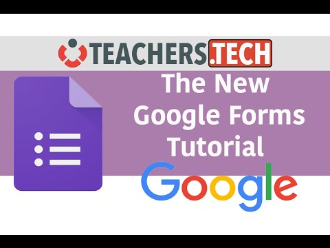 The New Google Forms - Detailed Tutorial - YouTube