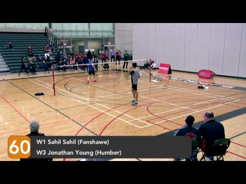 OCAA Badminton Championship Feature Court 2 - Day 1