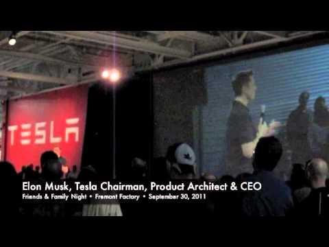 Elon Musk & Tesla Fremont Factory
