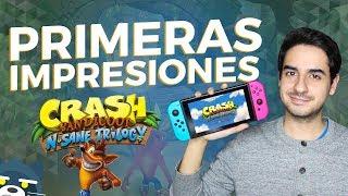 Crash Bandicoot N Sane Trilogy para Nintendo Switch: Impresiones Rápidas | Mapache Rants