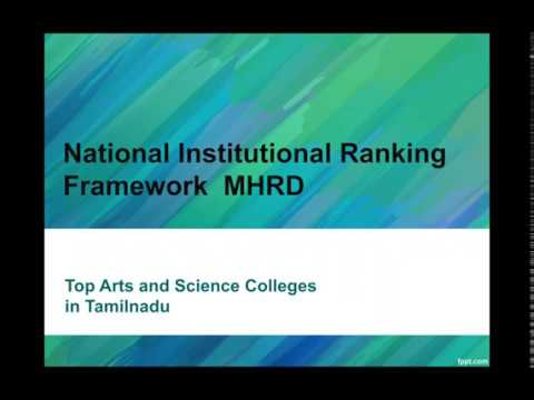 Top Arts College in Tamil Nadu | Based on All India Ranking | தமிழ்