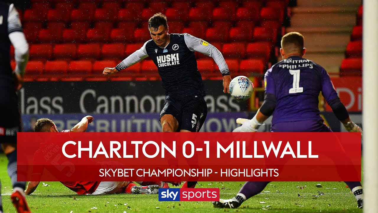 Cooper strikes late to secure Millwall win! | Charlton 0-1 Millwall | Championship Highlights