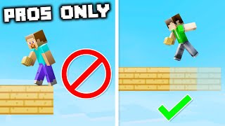 13 Things Only Pro Players Can Do In Minecraft!