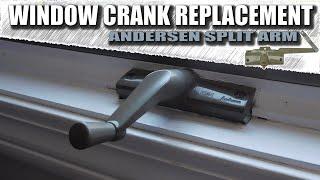 Andersen window crank replacement / Window crank repair