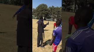 Football match Graduate Class vs Sophomore Students at Federal TVET Institute