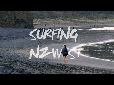 Surfing NZ Westcoast