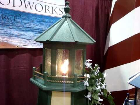 DutchCrafters Amish Made Poly Outdoor Lighthouse