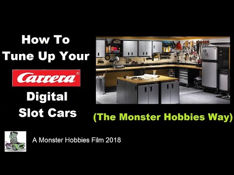 Tune up your slot car the Monster Hobbies Way!