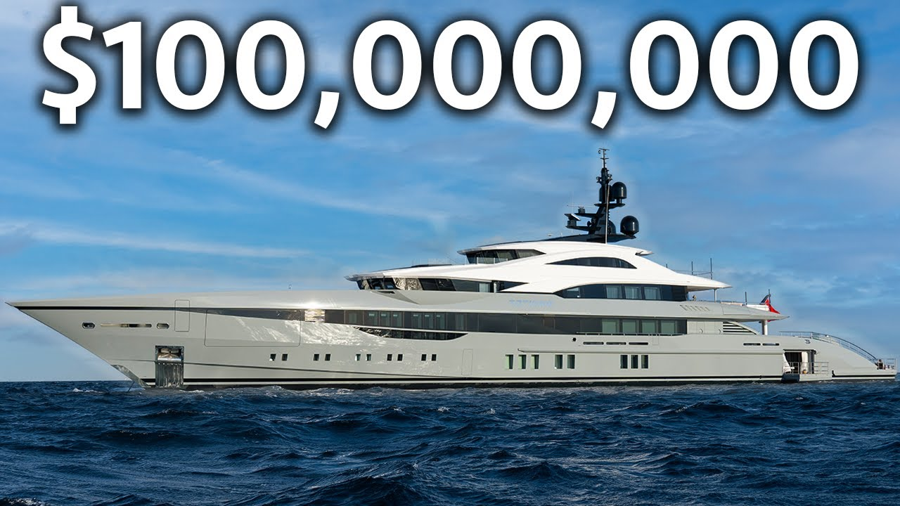 Download Touring a $100,000,000 Brand New MEGAYACHT with 2 Swimming Pools