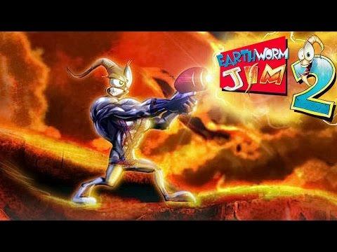 Червяк Джим 2 (Earthworm Jim 2) прохождение SEGA [011]