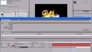 Вывод готового фильма в Adobe After Effects