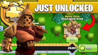 "Just Unlocked New ""Gladiator King Skin"" & New Update 2019 