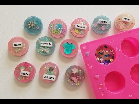 Ice Resin Charms Part 1