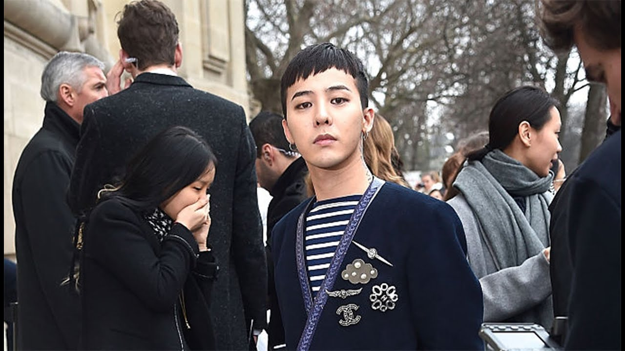 DRAGON (지드래곤) GD「DEPARTURE」2/2 @ CHANEL FASHION SHOW IN ...