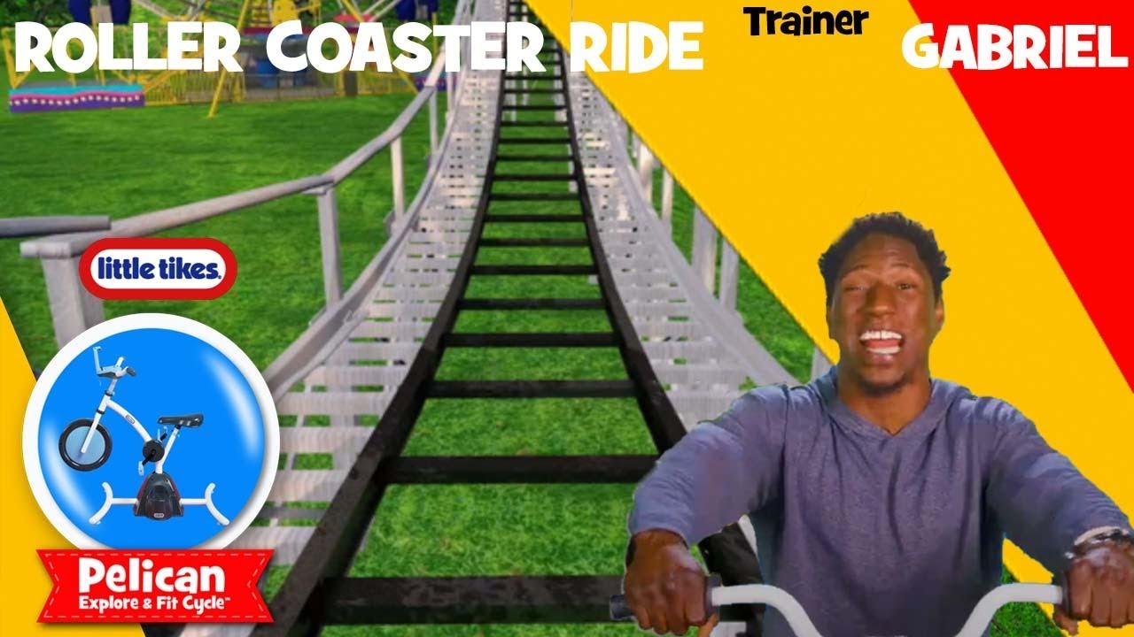 Roller Coaster Fun! Pelican Bikes Ride | Little Tikes