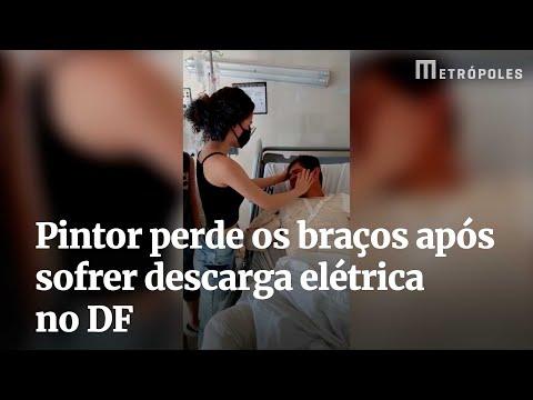 Pintor perde os braços após sofrer descarga elétrica no DF