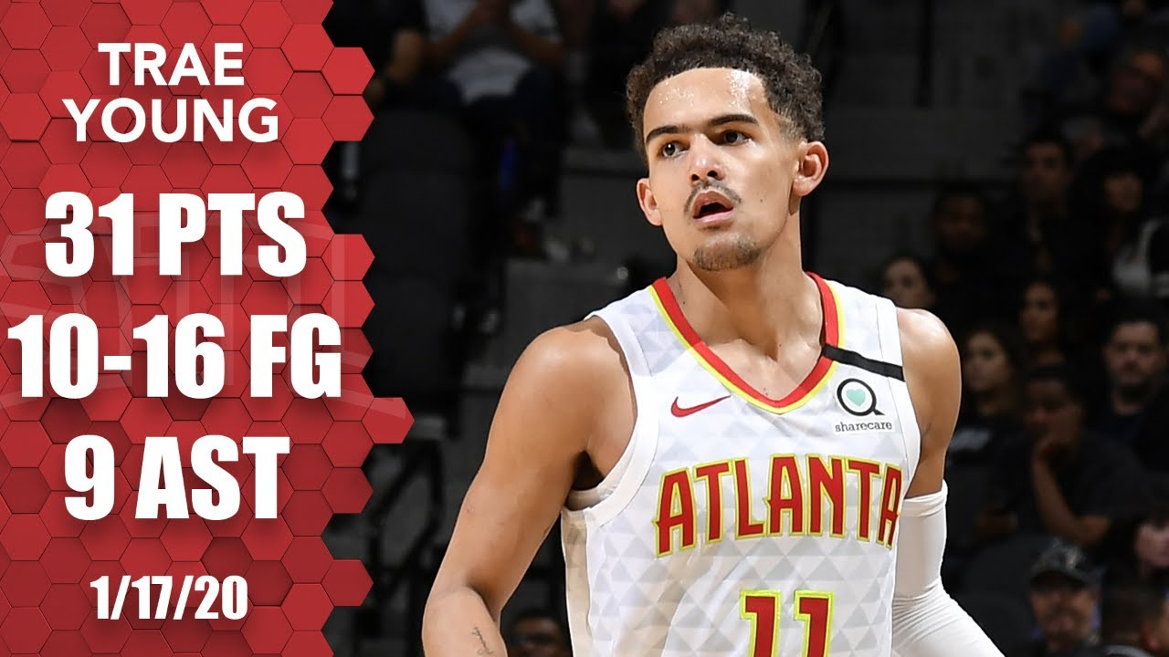Trae Young sparks late rally for Hawks vs. Spurs | 2019-20 NBA Highlights