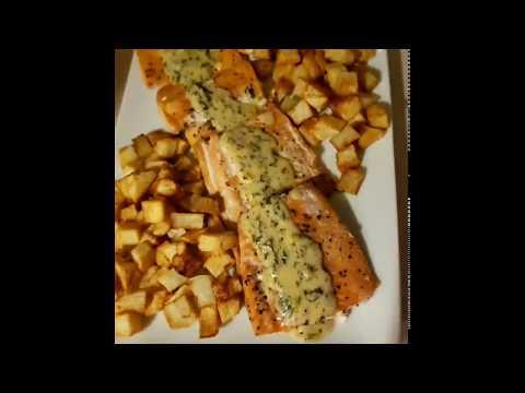 recette-saumon-au-four-facile-سمك-السلمون-في-الفرن