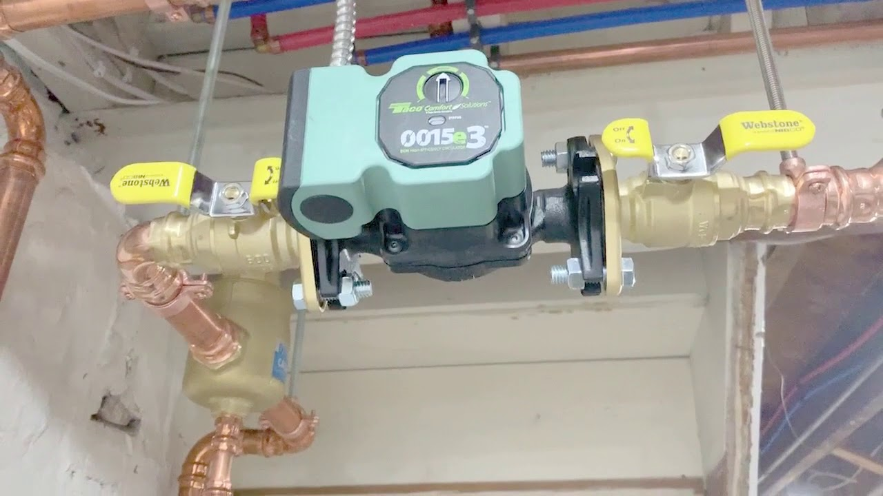 hight resolution of primary secondary boiler piping aquabalance boiler modification