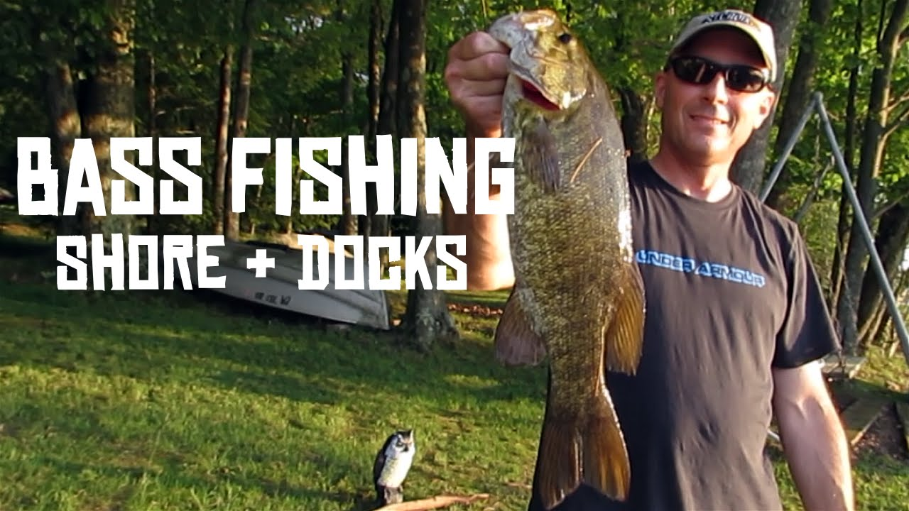 Bass fishing lake wallenpaupack from the shore and for Bass fishing from shore