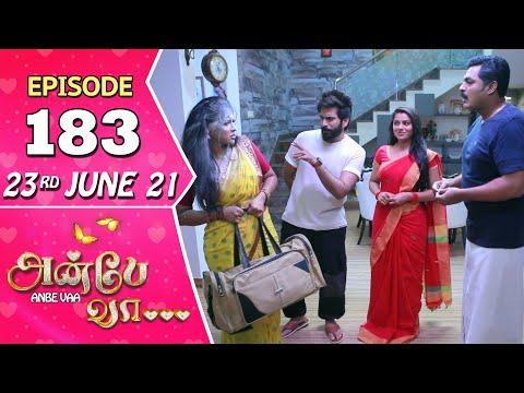 Anbe Vaa Serial | Episode 183 | 23rd June 2021 | Virat | Delna Davis | Saregama TV Shows Tamil
