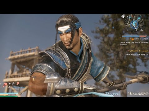 Dynasty Warriors 9 - Deng Ai - Open World Free Roam Gameplay