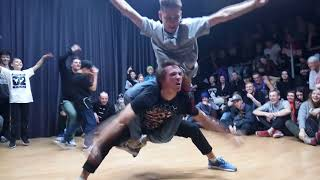 Firma (win), V1 Battle, Freestyle routine 2x2, Saint-Petersburg, 25 November 2017