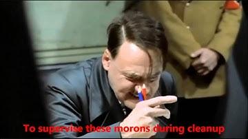 Hitler Shut Down by DCMA