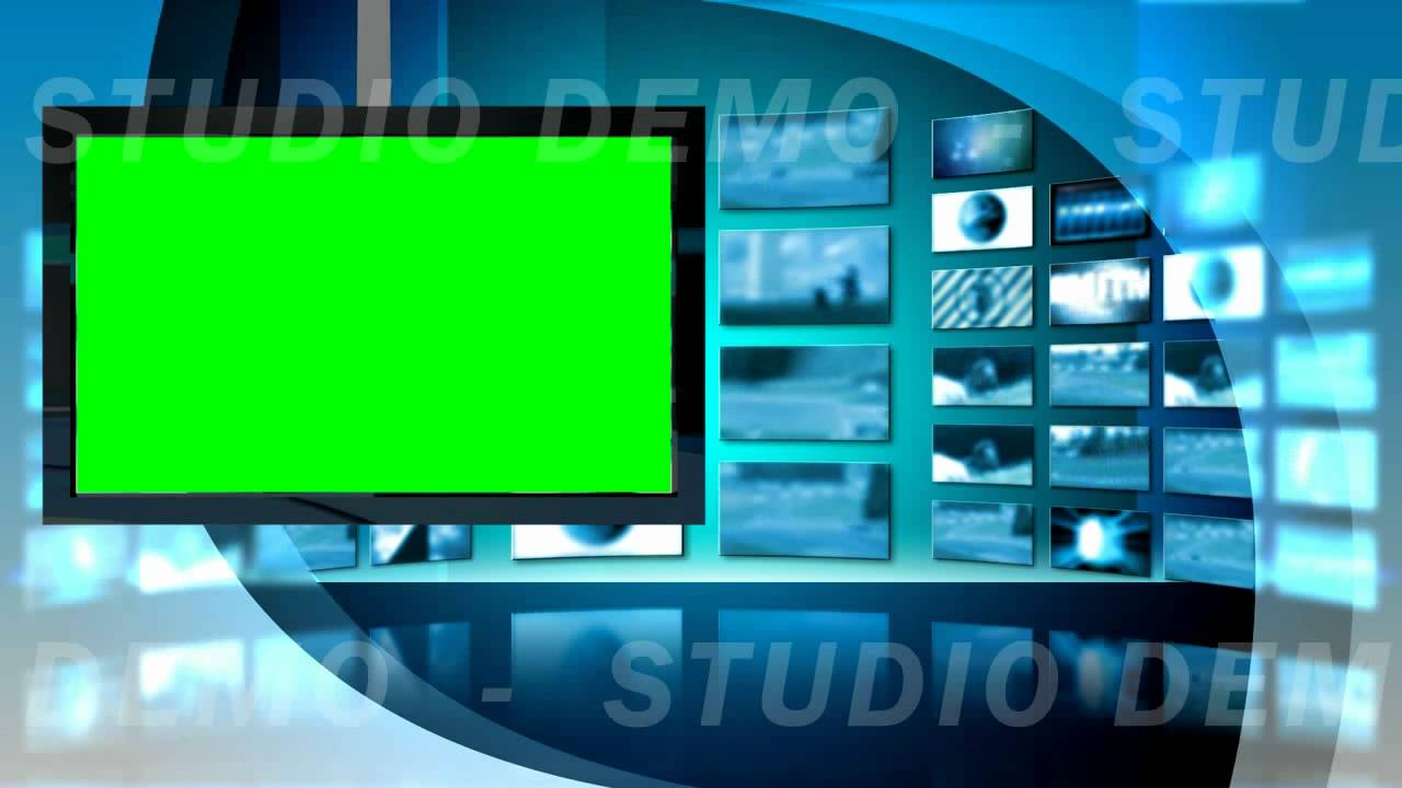 Green Screen Video Background - Virtual Set 8 Left ...