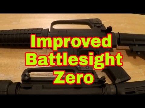 AR15 Improved Battlesight Zero - Elevation Drum Modification