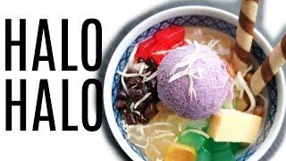 HALO-HALO Filipino shaved ice dessert