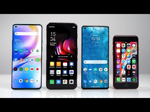 OnePlus 8 Pro Vs. RedMagic 5G Vs. Motorola Edge Vs. Apple IPhone SE (2020) - Benchmark | SwagTab