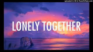 Avicii Feat Rita Ora - Lonely Together (Jaded Radio Edit)