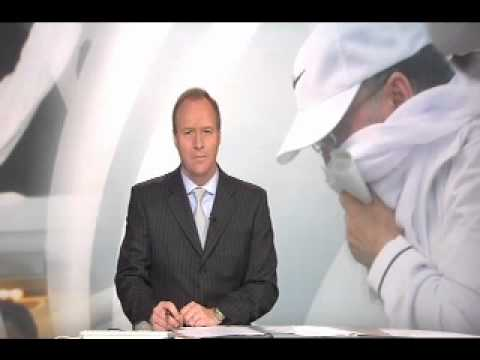Rob Matheson anchors BBC Reporting Scotland