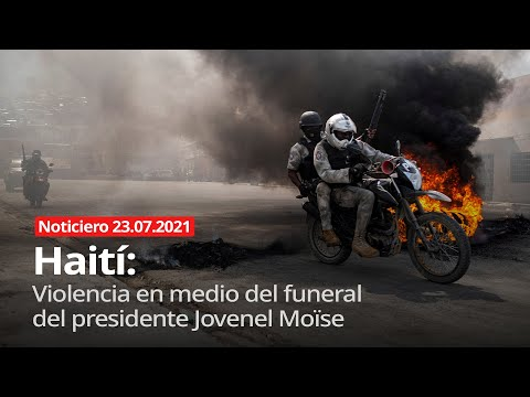 Haití: violencia en medio del funeral del presidente Jovenel Moïse - Noticiero 23/07/2021