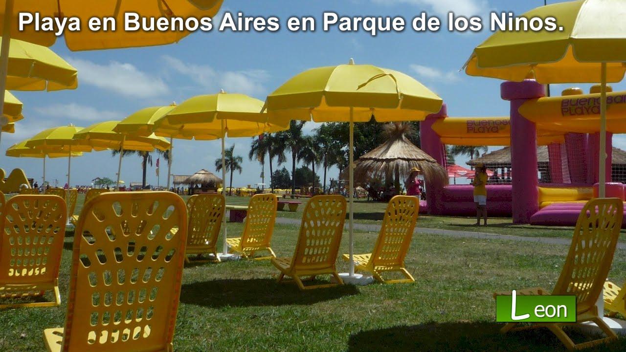 Playa en buenos aires en parque de los ni os argentina for Espectaculo para ninos buenos aires