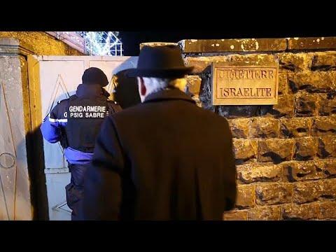 تخريب أكثر من 100 قبرٍ يهوديٍ شرق فرنسا  - 06:57-2019 / 12 / 4
