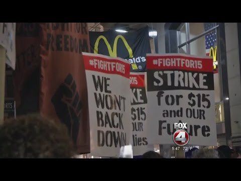Fight for $15 wage