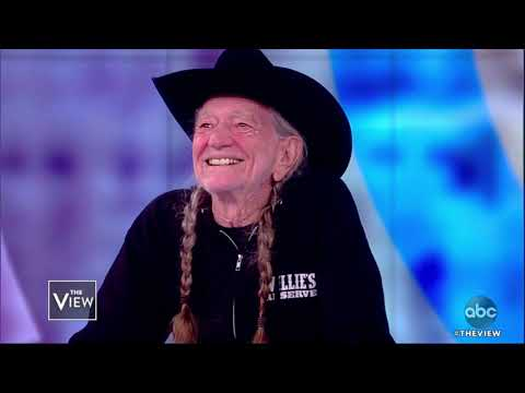 Willie Nelson Talks Career, Poker Game, and Grammys   The View