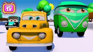 Learn Colors With Cars. Cartoon - Super Cars racing