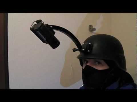 Install to helmet Contour to GoPro Camera Mount Adapter