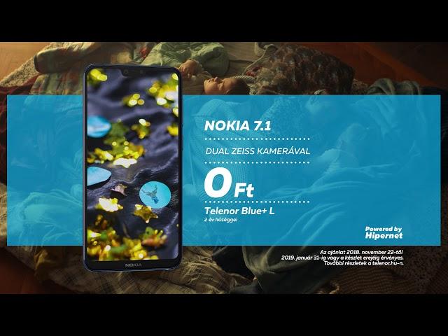 Nokia 7.1 a Telenortól
