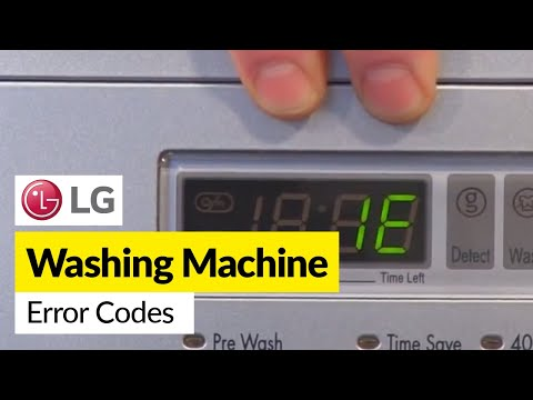 Identifying LG Error Codes and Problems