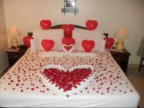 Beautiful Bridal Wedding Bedroom Decoration