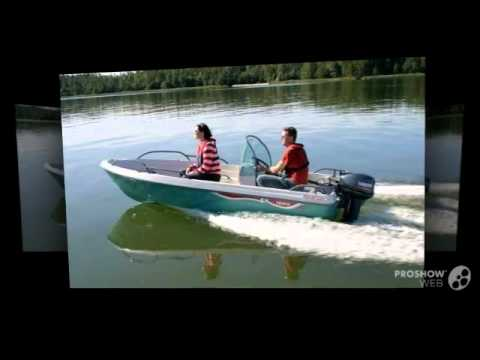 Моторная лодка Terhi Sea Fun - YouTube