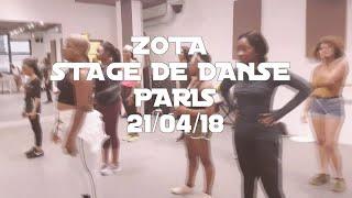 Zota - Stage de danse à Paris - 21 avril 2018