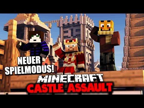 SPRENGT IHRE BURG UND TÖTET DEN KÖNIG! ✪ Minecraft ASSAULT mit GLP