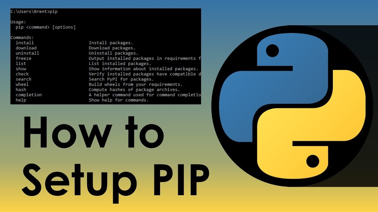 How To Setup Python's PIP - Nitratine